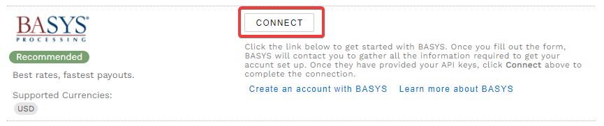 Connect to BASYS